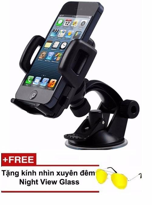 Giá đỡ điện thoại trên ô tô Tặng cóc sạc ôtô remax hính hãng 7