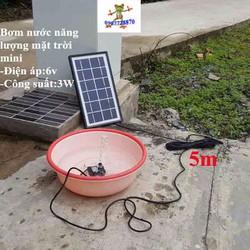 Bộ máy bơm nước năng lượng mặt trời mini