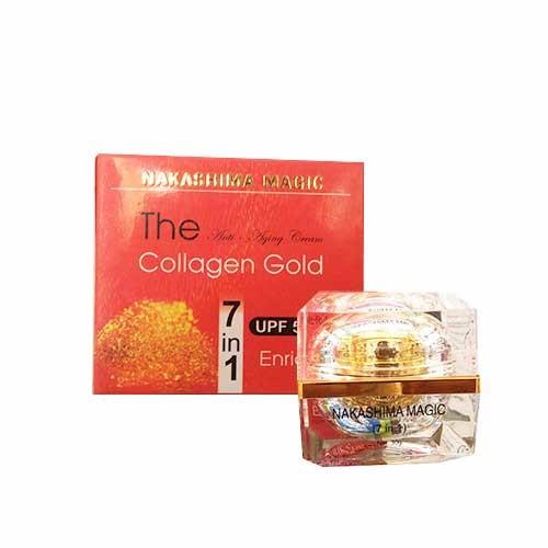 Kem dưỡng ngừa lão hóa 7in1  Nakashima Magic Collagen Gold 30g