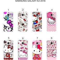 Ốp lưng Samsung Galaxy A3 2016 in hình Kitty
