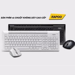 Bàn phím + chuột không dây Rapoo 8200P