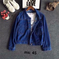 áo khoác jeans nữ