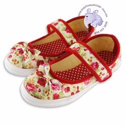 Giày búp bê bé gái. Made in Thailand