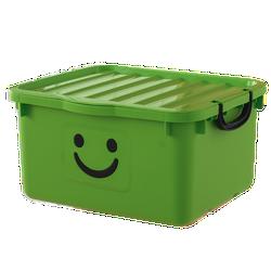Thùng nhựa đựng đồ cao cấp size lớn Happy Box Yuwon PS Xanh lá cây
