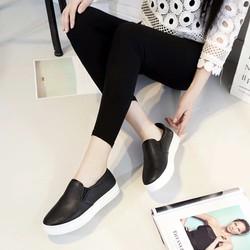 Giày Slip on nữ da mềm loại đẹp