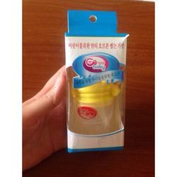 Túi nhai ăn dặm chống hóc GB Hàn Quốc - Tặng 02 túi trữ sữa GB
