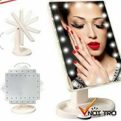 Gương trang điểm để bàn có đèn led