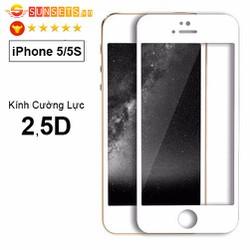 Kính cường lực iPhone 5-5S-SE full màn hình