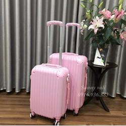Vali kéo cao cấp 20inch - Màu hồng