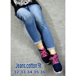 Quần Jean 9 tấc Bigsize 35 36