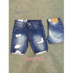 Quần short jeans cao cấp y hình