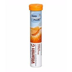 Viên sủi DAS Gesunde Plus vitamin C lọ 20v