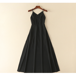 Đầm Maxi voan đen - Chuyên hàng Quảng Châu chính gốc giá tốt