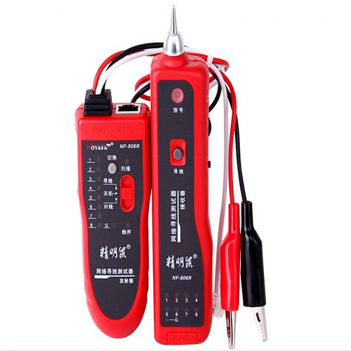 Máy test dò cáp mạng và điện thoại NOYAFA NF-806R Đỏ - 4283619 , 5692417 , 15_5692417 , 1230000 , May-test-do-cap-mang-va-dien-thoai-NOYAFA-NF-806R-Do-15_5692417 , sendo.vn , Máy test dò cáp mạng và điện thoại NOYAFA NF-806R Đỏ