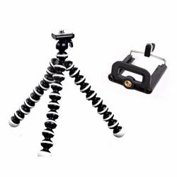 Chân máy ảnh bạch tuộc và đầu kẹp điện thoại