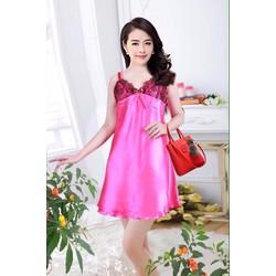 Đầm ngủ phi lụa nhiều màu SHC68