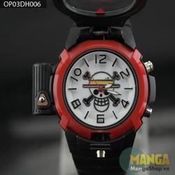 Đồng hồ LAZE đeo tay Luffy - One Piece - 006