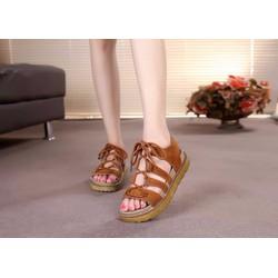 Giày Sandal quai cột huyền bí, phong cách HQ