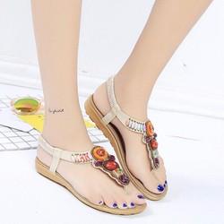 Sandal đế bệt thời trang