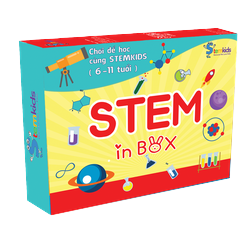 Bộ trò chơi khoa học cho bé - Stem Kids