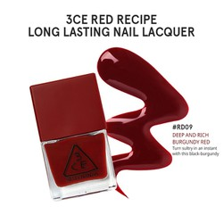 SƠN MÓNG TAY RED RECIPE LONG LASTING NAIL LACQUER