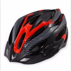 Mũ nón bảo hiểm xe đạp thời trang Carbon