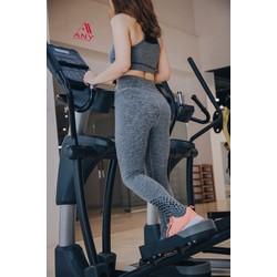 Quần thể thao nữ tập gym chạy bộ yoga legging