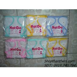 Set 5 tã dãn Hotga không in hình số 2 dùng cho bé sơ sinh
