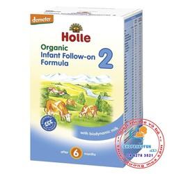 Sữa Holle Organic số 2 -600g