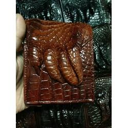 Bóp nam nữ được làm bằng chất liệu da cá sấu