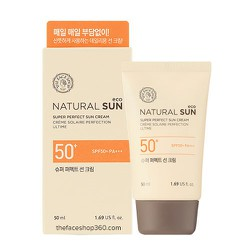KEM CHỐNG NẮNG NATURAL SUN ECO SUPER PERFECT SUN CREAM SPF50+ PA+++