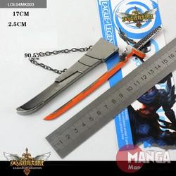 Móc khóa Yasuo siêu phẩm LOL - MK003