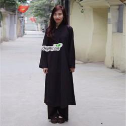 Quần áo phật tử, áo lam đi chùa: Áo tràng Phật Tử - Q170