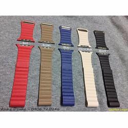 Dây đeo Leather Loops cho Apple watch 42mm - quà tặng