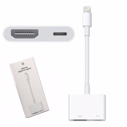 Apple Lightning digital av - Cáp hdmi cho iphone ipad chính hãng Apple