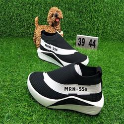 giày đế cao nam thoáng khí phối màu đơn giản sang trọng NEW