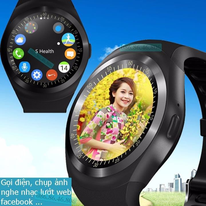 Đồng hồ thông minh Nhật Siêu Phẩm Nghe Gọi Giải Trí Đa Năng Fuji KW01 1