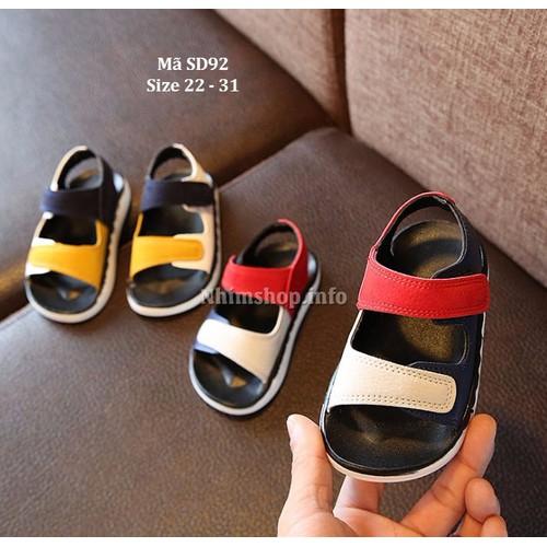 Giày Dép sandal cho bé trai 1.5 - 6 tuổi siêu nhẹ SD92
