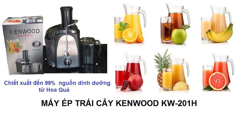 MÁY ÉP TRÁI CÂY KENWOOD KW-201H 1