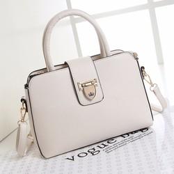 Túi xách nữ công sở hàng nhập Quảng Châu- màu trắng