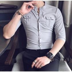 Sơ mi nam tay dài Hàn Quốc mẫu mới