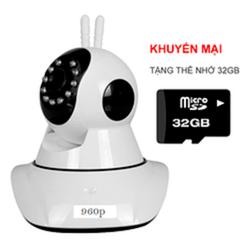 Camera ip wifi không dây thông minh YOOSEE siêu nét 1.3Mp + 32Gb