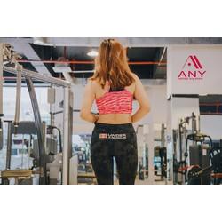 Quần thể thao nữ tập gym chạy bộ yoga legging Ar