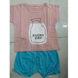 Bộ mặc ngày hè cho bé siêu mát mẻ
