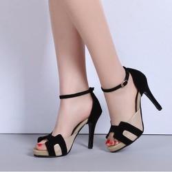 Giày cao gót nữ quai viền chữ H - LN1226