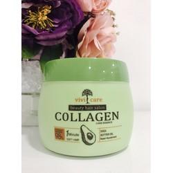 Hấp dầu dưỡng tóc Collagen ViVi Care tinh chất quả bơ