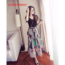Đầm maxi thời trang HÀN QUỐC mới L121513A