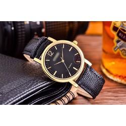 đồng hồ thời trang nam dây da