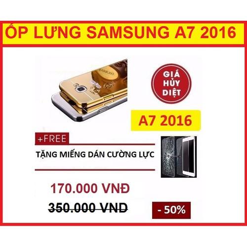 ỐP LƯNG TRÁNG GƯƠNG SAMSUNG A7 2016