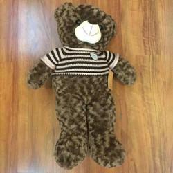 Thú nhồi bông Gấu Teddy cao cấp 90cm hoặc đứng 75cm